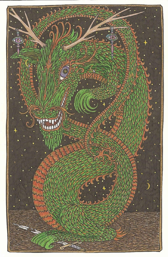Laughing Dragon (art card)