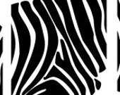 Zebra Panels Wall Art Graphics Lettering Vinyl Decal Stickers