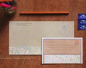 Kawaii Letter Writing Set - Tour the World