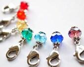 Drops of Rainbow Crochet Markers Set of 7