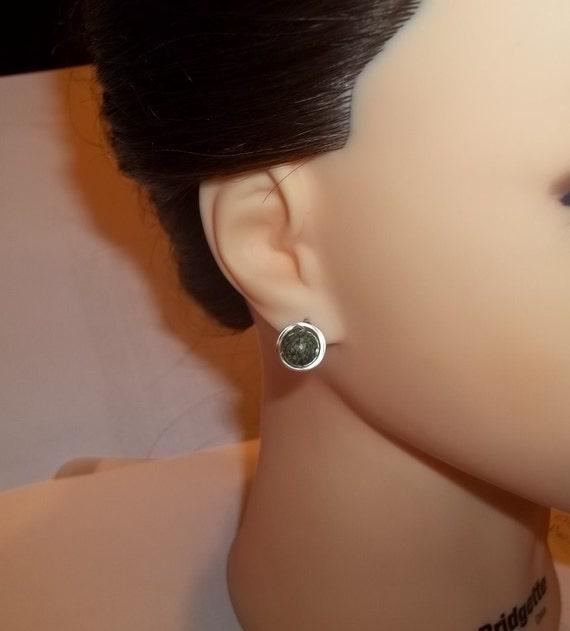 Modern Earrings, Wire Wrapped Earrings, Stud Earrings, Beaded Earrings