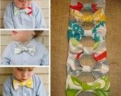 Little Boys Clip On Bow Tie