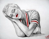 Original Marilyn Monroe -  Limited Edition 12x18 inches