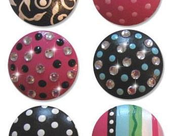 Fancy Bling Drawer knobs - SO CUTE