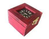 Small Faux Clock Box