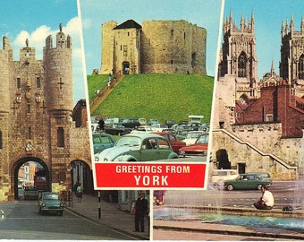 United Kingdom -England - York - Vintage Postcards - International Postcards