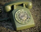 Mid-Century, Rotary Telephone, Antique