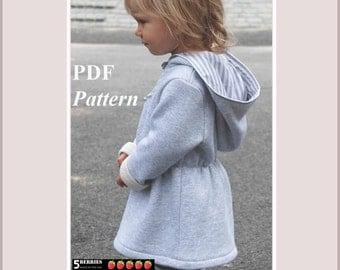 Olga Girls Dress Pattern + Free Mother-Daughter Apron Pattern, Hoodie Pattern,  Children's Sewing Patterns, baby, toddler, pdf, tutorial
