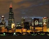 Chicago Blackhawks WIN STANLEY CUP Skyline 8x10 Photo 906