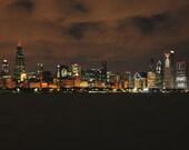 CHICAGO BLACKHAWKS Win Stanley Cup Skyline 8x10 Photo 912