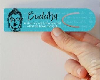 Buddha all that we are aluminum bookmark