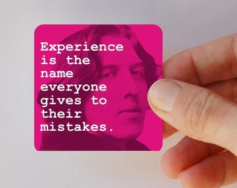 WILDE experience square magnet