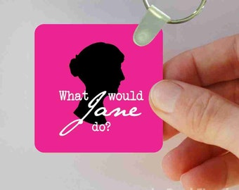 what would jane do keychain