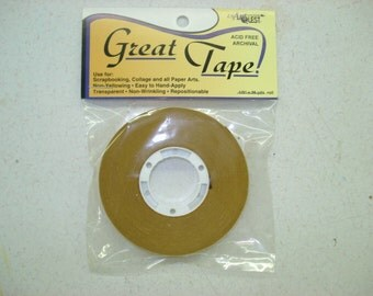"""ATG Great Tape Dry Adhesive by USArtQuest 1/2"""" x 36 yards"""