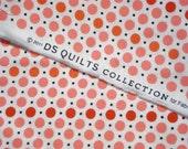 DS Quilts Denyse Schmidt Picnic Pink Red Orange Dots FQ or more
