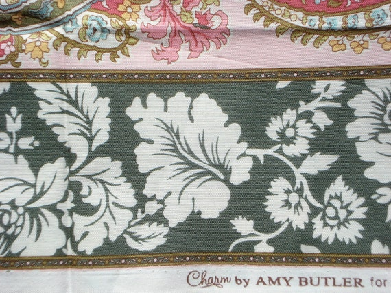 CLEARANCE: FQ or more Amy Butler Charm Paisley Stripe fabric