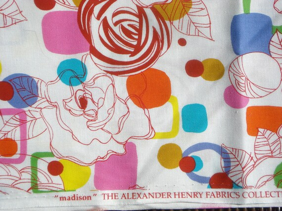 """Alexander Henry """"madison"""" fabric 2004 FQ or more"""