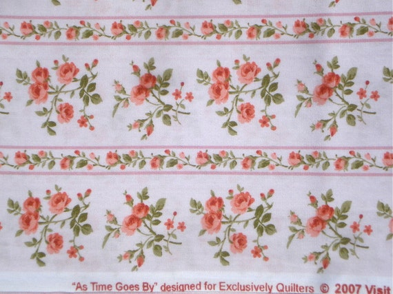 As Time Goes By - Exclusively Quilters 2007 fabric FQ or more