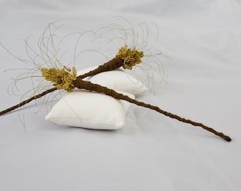 8, 1 - Thistle Hair Sticks
