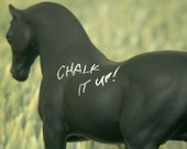 The Original Chalkboard Horse - Pavel