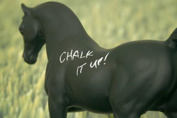 The Original Chalkboard Horse - Pavel