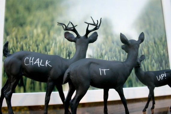 The Original Chalkboard Deer Family - The Andersons -SALE