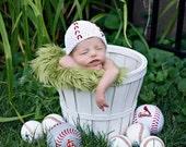 Baseball Beanie, newborn or 0-3 months