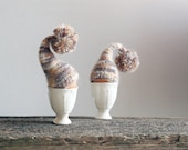 SALE 10% OFF Rustic chic. Egg warmers, set of 2
