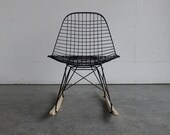 Eames for Herman Miller Wire Chair Rocker