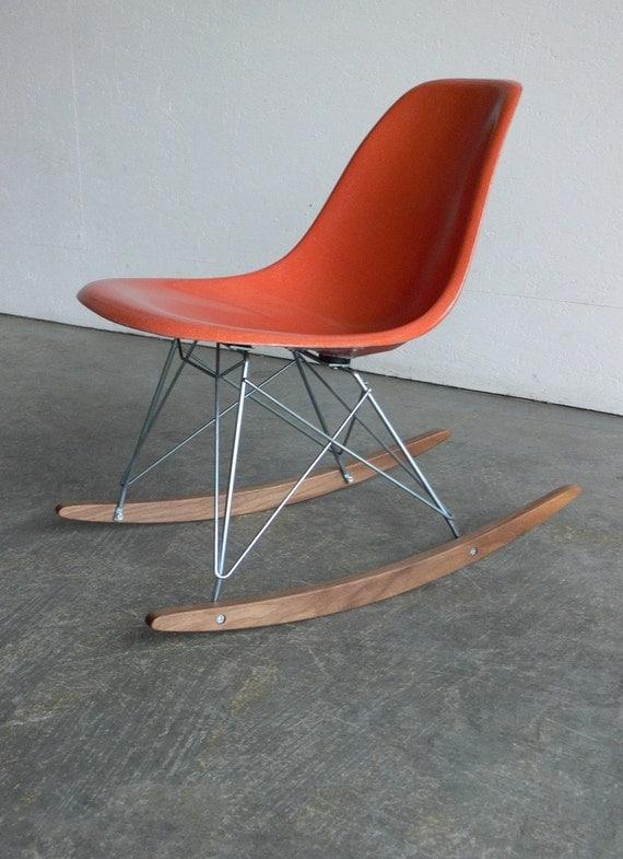 Herman Miller Eames Fiberglass Side Chair Rocker