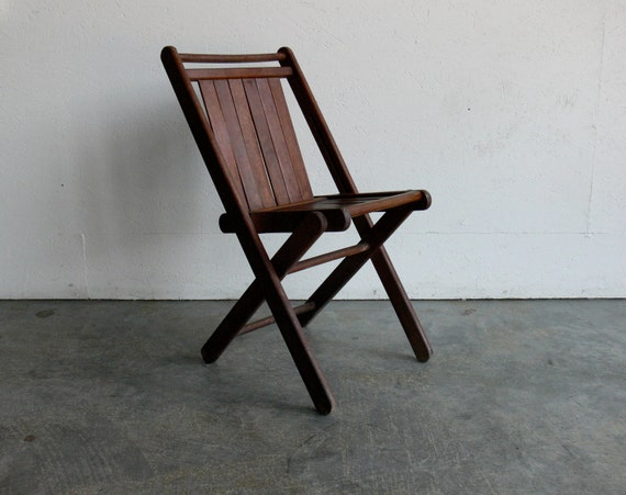 Wood Folding Theater Chair By CoMod On Etsy