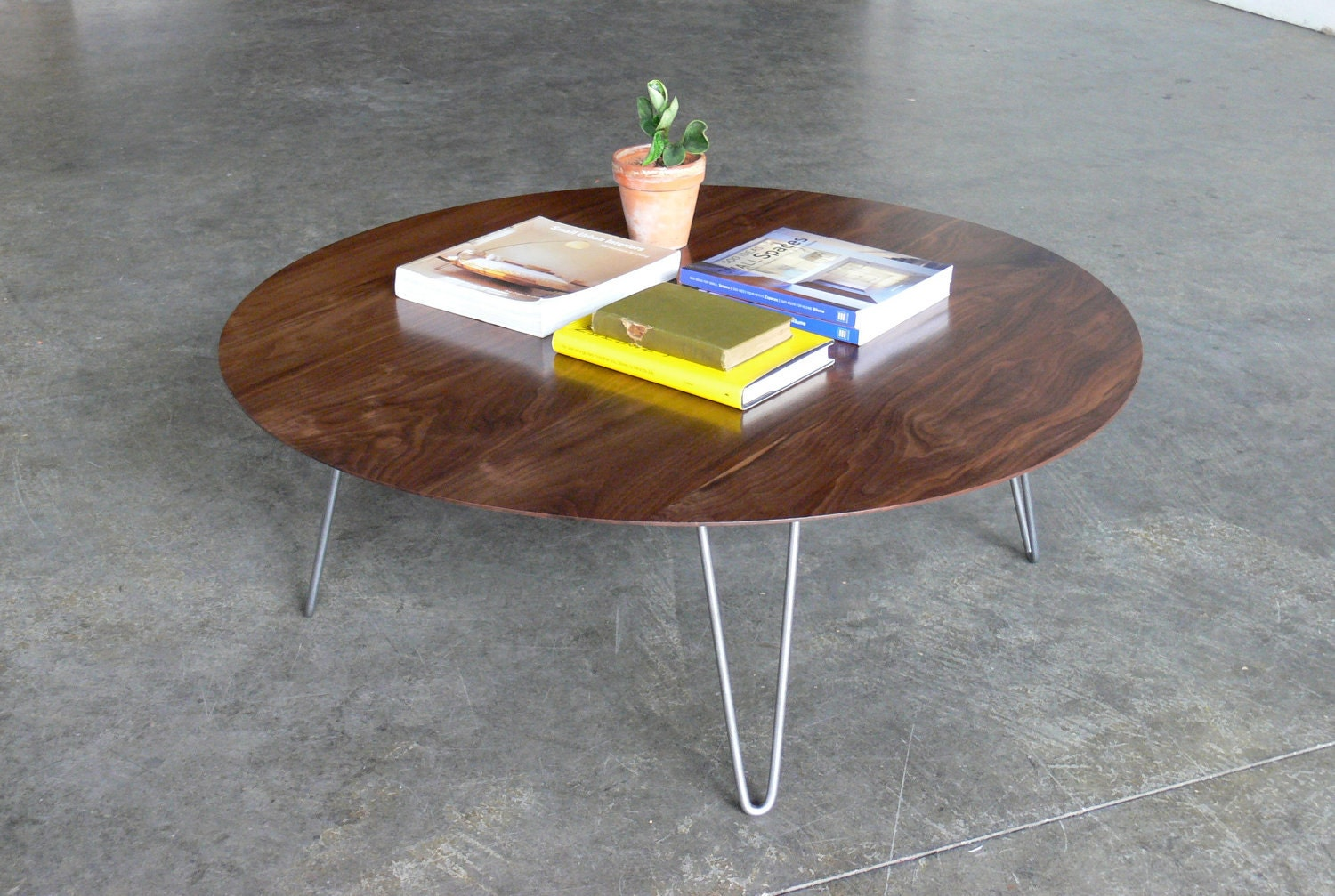 Mid century modern eames inspired coffee table for Mid century modern coffee table