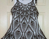 Crochet Layer Dress Made to Order  in any size and color with any modifications