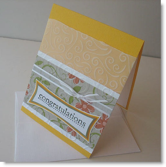 Graduation Greeting Card: Handmade Blank Note Card (Batch No.3) - Party Time
