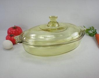 1930s Durax Schott & Gen. Jenaer Glas. Ges.Gesch Glass Roaster Casserole - Bauhaus Wagenfield