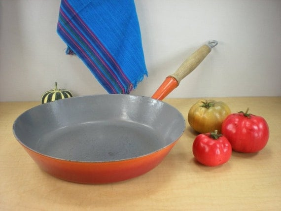 Le Creuset No 28 Vintage Fry Pan Skillet 11 In By