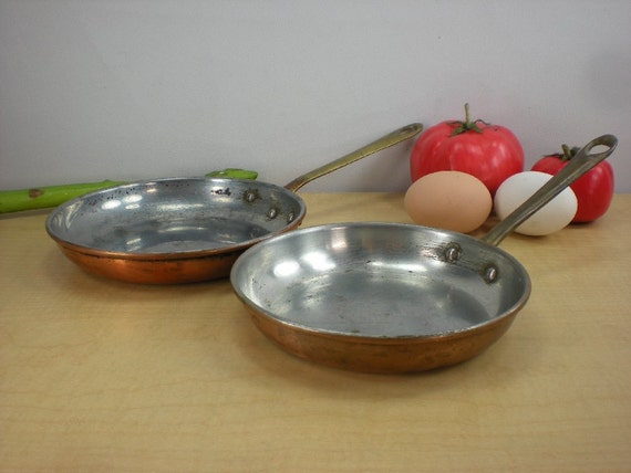 Copral Portugal Copper Cookware Fry Pans Skillets