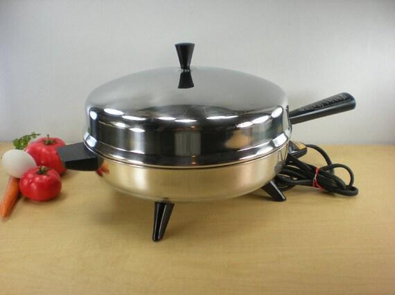 Farberware 12 Fry Pan Electric Skillet By Oldetymestore On