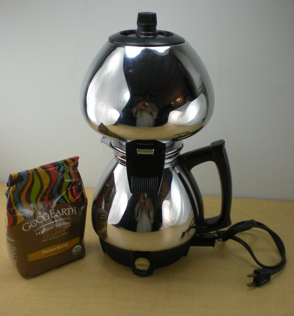 Sunbeam Percolator Coffee Maker : Sunbeam Coffeemaster C50 Vacuum Coffee Maker by oldetymestore
