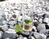 SALE pet tree plant necklace pebbles succulent SUMMER FRESH