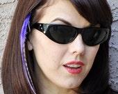 BOHO Chick Glass Lens Sunglasses BLACK