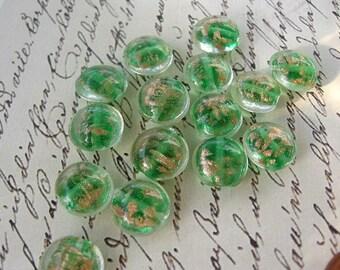 12mm Round Lampwork Beads