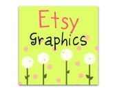 Premade Etsy Shop Banner and Avatar - Spring Dandelions