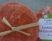 Loofa Soap McIntosh Peach 5 oz