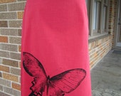 Red Butterfly Skirt