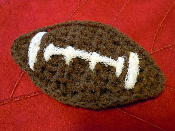 Crochet Football Dish Scrubbies - Reserved for coachesgirl