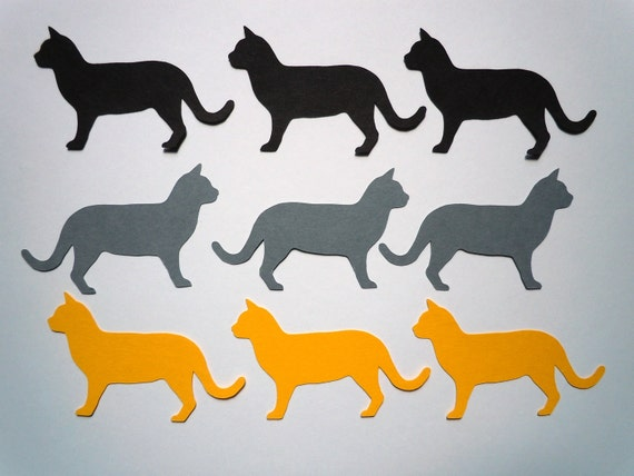 Cat Scrapbook Cutouts- 36 Piece Set