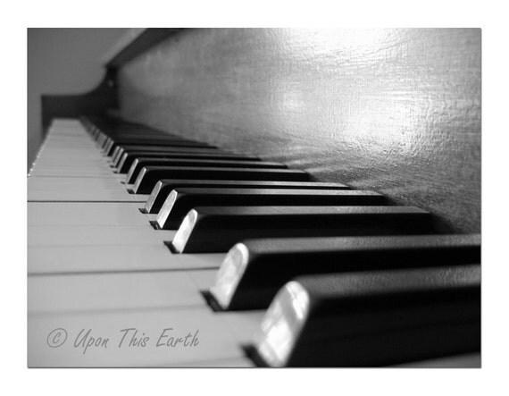 """Piano Keys To My Heart -  8.5"""" x 11"""" Fine Art Photograph"""