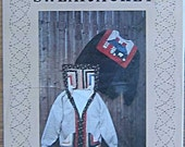 Vintage 80's A Quilter's Wardrobe Sweat Jacket Pattern 8004, By Anne Colvin, Patchwork Clothing