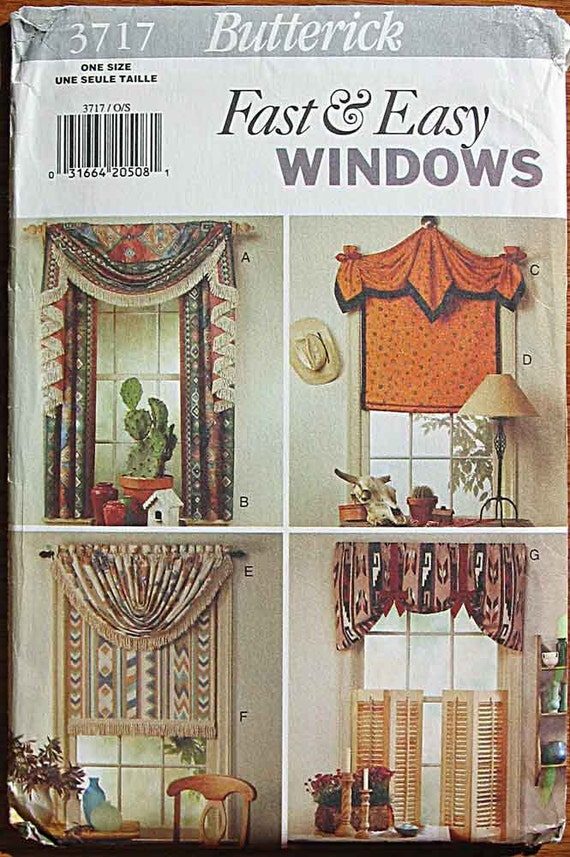 Fast Amp Easy Window Treatments Country Western Theme Windows